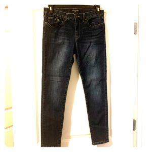 NWOT Dark blue Banana Republic skinny jeans
